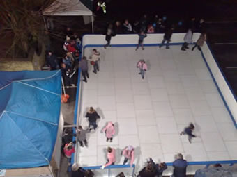 Mobile ice rinks for hire, North West and anywhere in the UK on request