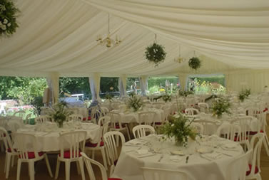 Marquees for hire for weddings and events